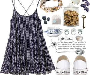 converse, dress, and fashion image