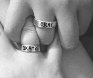 couples, love ring, and boyfriends image