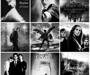 beautiful disaster, books, and harry potter image