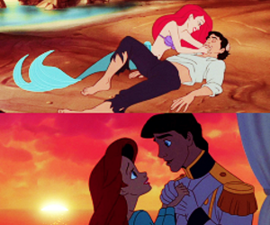 ariel, mermaid, and relationships image