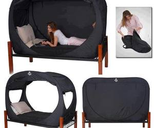 bed and tent image