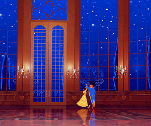 beast, belle, and princess image