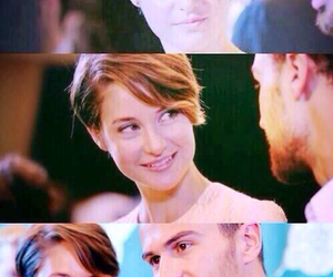 sheo, theo james, and Shailene Woodley image