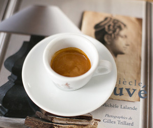 coffee, cup, and vintage image