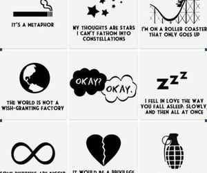 john green, tfios, and rollercoaster image