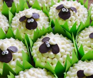 cupcake and sheep image