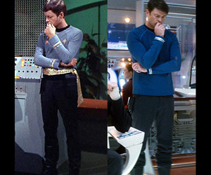 bones, star trek, and deforest kelley image