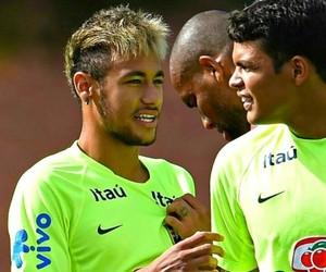 neymar, neymar jr, and thiago silva image