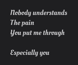broken, pain, and love image