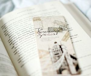 book, vintage, and bookmark image