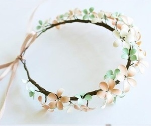 flowers, diy, and fashion image