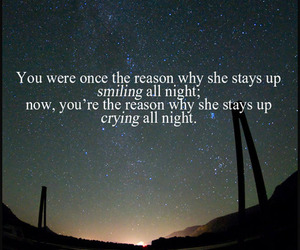 quote, crying, and smiling image