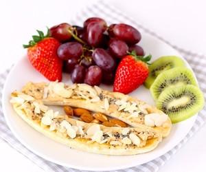 banana, breakfast, and fruit image