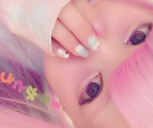 kawaii, pink, and 美少女 image