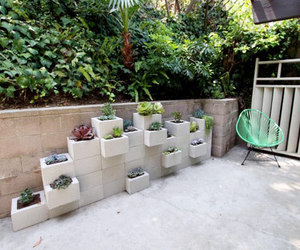 decorating, garden, and planter image