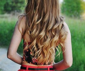 curly, hairs, and love image