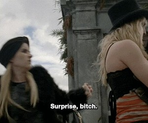 bitch, surprise, and gif image
