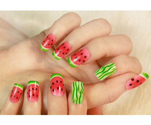 nails and watermelon image