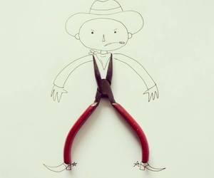 cowboy, drawing, and art image