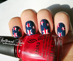 nails, stars, and red image