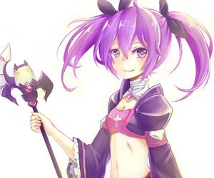anime girl, Devil, and kawaii image