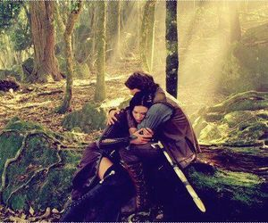 couple, legend of the seeker, and beautiful love image