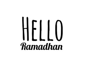 text and ramadhan image