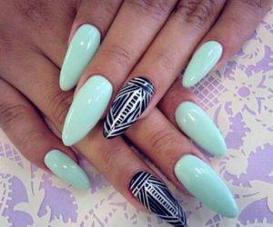 black, fresh, and nails image