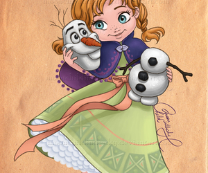 disney, anna, and frozen image