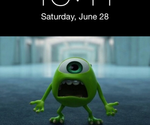 mike, monsters inc, and mike wazowski image