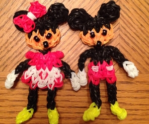 crafts, rainbow loom, and disney image