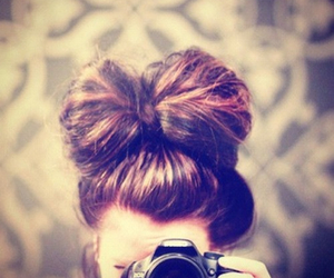 hair, camera, and photography image