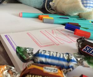 chocolate, colours, and doodle image