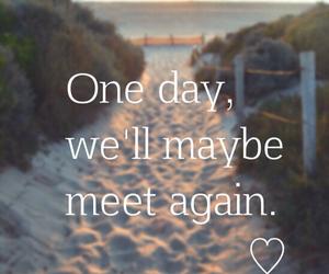 love, beach, and meet image
