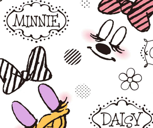 background, minnie, and daisy image