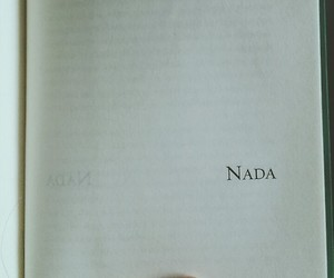 book, nada, and page image