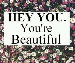 beautiful, you, and flowers image