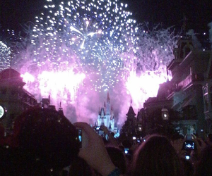 4th of july, magic kingdom, and castle image