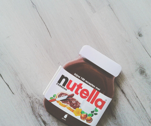 food, nutella, and photography image