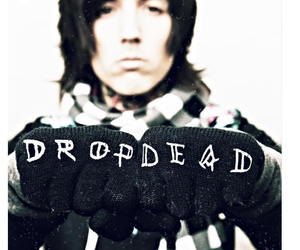 drop dead, oliver sykes, and bring me the horizon image