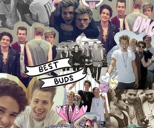 boys, Collage, and the vamps image
