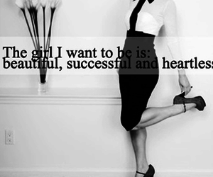 heartless, beautiful, and quote image
