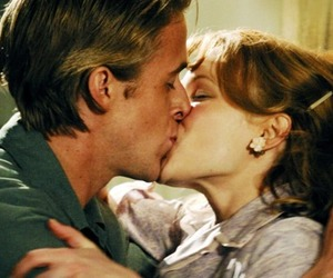 the notebook, love, and kiss image