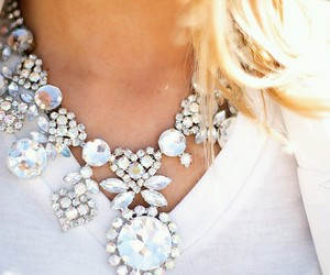 necklace, fashion, and style image