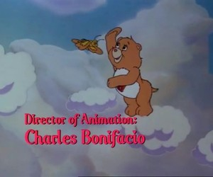 butterfly, care bears, and cartoon image