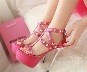 cool, heels, and follow me image