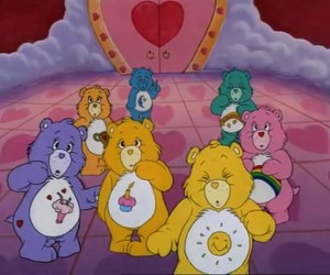 care bears, clouds, and Dream image