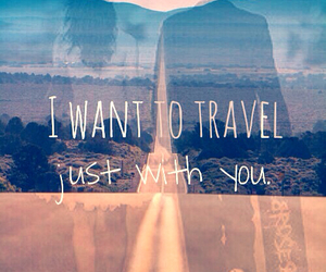 Relationship, travel, and love image