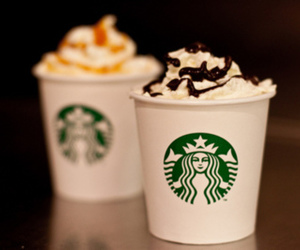 food and starbucks image