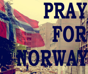 norway and pray for norway image